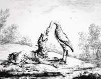 Волк и Журавль (К. Верне)