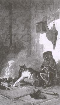 Мартышка и Кот (Е. Ламберт)