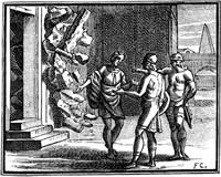 Предостережение Богов Симониду (гравюра XVII в.)