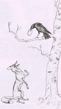 Ворона и Лисица (де Вимар)