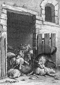 Волки и Овцы (Ж.-Б. Удри)
