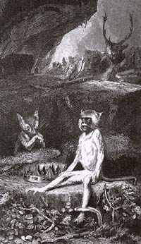 Лисица, Обезьяна и Звери (Е. Ламберт)
