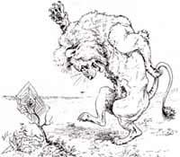 Лев и Комар (Вимар)