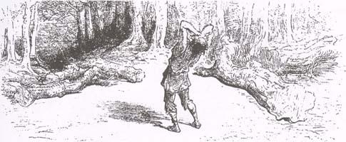 Дровосек и Меркурий (Г. Доре)