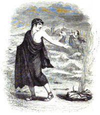 Юпитер и Путник (Гранвиль)