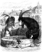 Козел и Лисица (Гранвиль)