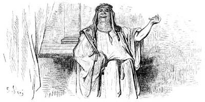 Оракул и Безбожник (Г. Доре)