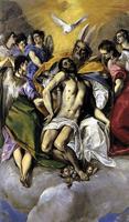 Троица (Эль Греко, 1579г., Прадо)