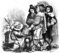 Старик и трое Молодых (Гранвиль)