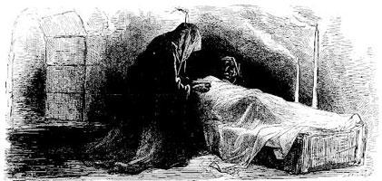 Пьяница и его жена (Г. Доре)