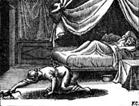 Кошка, превращенная в женщину (Ф. Шово)
