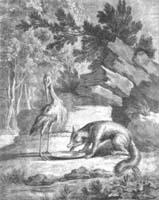 Лисица и Аист (Ж. Удри)