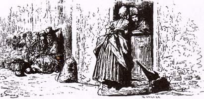 Женщины и Секрет (Г. Доре)