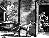 Волк, Мать и Ребенок (Ф. Шово)