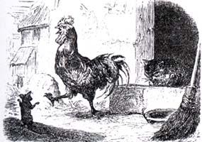 Петух, Кот и Мышонок (Адамард)