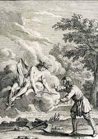 Дровосек и Меркурий (Удри)