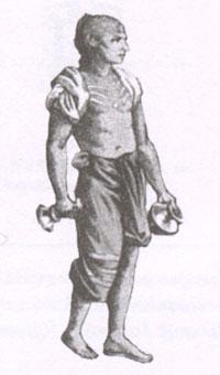 Брамин. Рисунок XIX в.