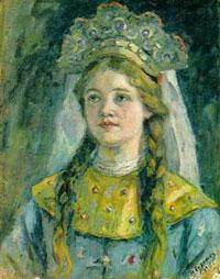 Царевна (В.И. Суриков)