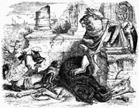 Лев и его Двор (Гранвиль)