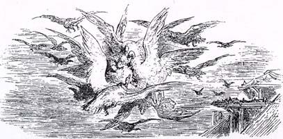 Коршуны и Голуби (Г. Доре)