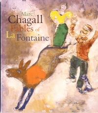 Басни Ж. де Лафонтена с иллюстрациями М. Шагала