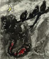 Иллюстрация к басне Лисица и Индюки