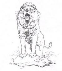 Лев на ловле (де Вимар)