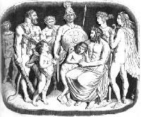 Боги и Зевесов Сын (Гранвиль)
