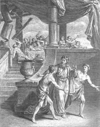 Предостережение Богов Симониду (Ж.-Б. Удри)