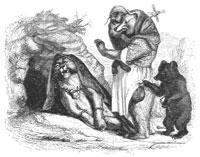 Львица и Медведица (Гранвиль)