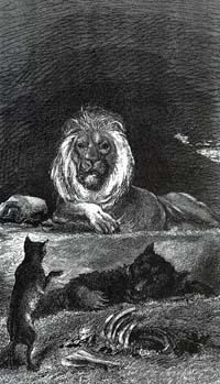 Лев и его Двор (Е. Ламберт)
