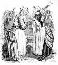 Женщины и Секрет (Гранвиль)