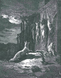 Английская Лисица (Г. Доре)