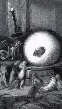 Мышь, удалившаяся от света (Е. Ламберт)
