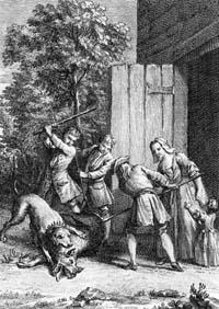 Волк, Мать и Ребенок (Удри)