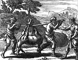 Мельник, его Сын и Осел (Ф. Шово)