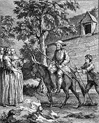 Мельник, его Сын и Осел (Удри)