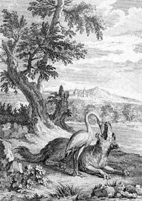 Волк и Журавль (Удри)