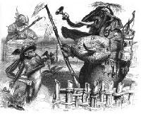 Слон и Обезьяна Юпитера (Гранвиль)