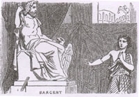 Ваятель и Статуя Юпитера (К. Жирарде)