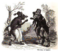 Лисица и Кот (Гранвиль)