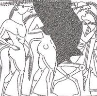 Спутники Одиссея (Улисса) у Цирцеи
