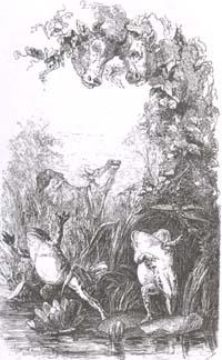 Два Быка и Лягушка (Е. Ламберт)
