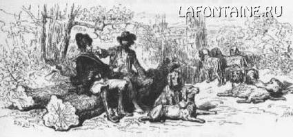 Иллюстрация к басне Воля и Неволя