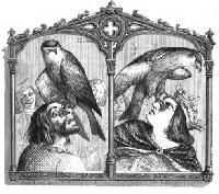 Король, Коршун и Охотник (Гранвиль)