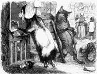 Волк, Коза и Козленок (Гранвиль)