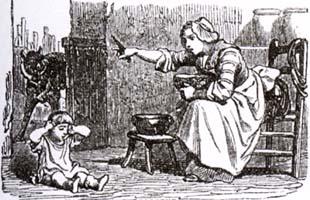 Волк, Мать и Ребенок (К. Жирарде)