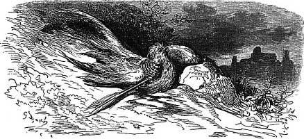 Птица, раненая стрелой (Г. Доре)