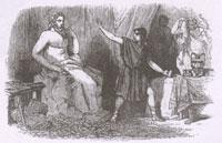 Ваятель и Статуя Юпитера (Ж. Давид)