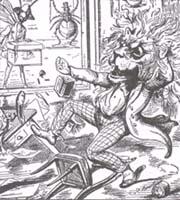 Лев и Комар (Ч. Беннетт)